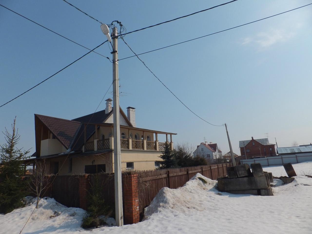 Воздушная линия ЛЭП 0,4 кВ СИП 4_70. 2
