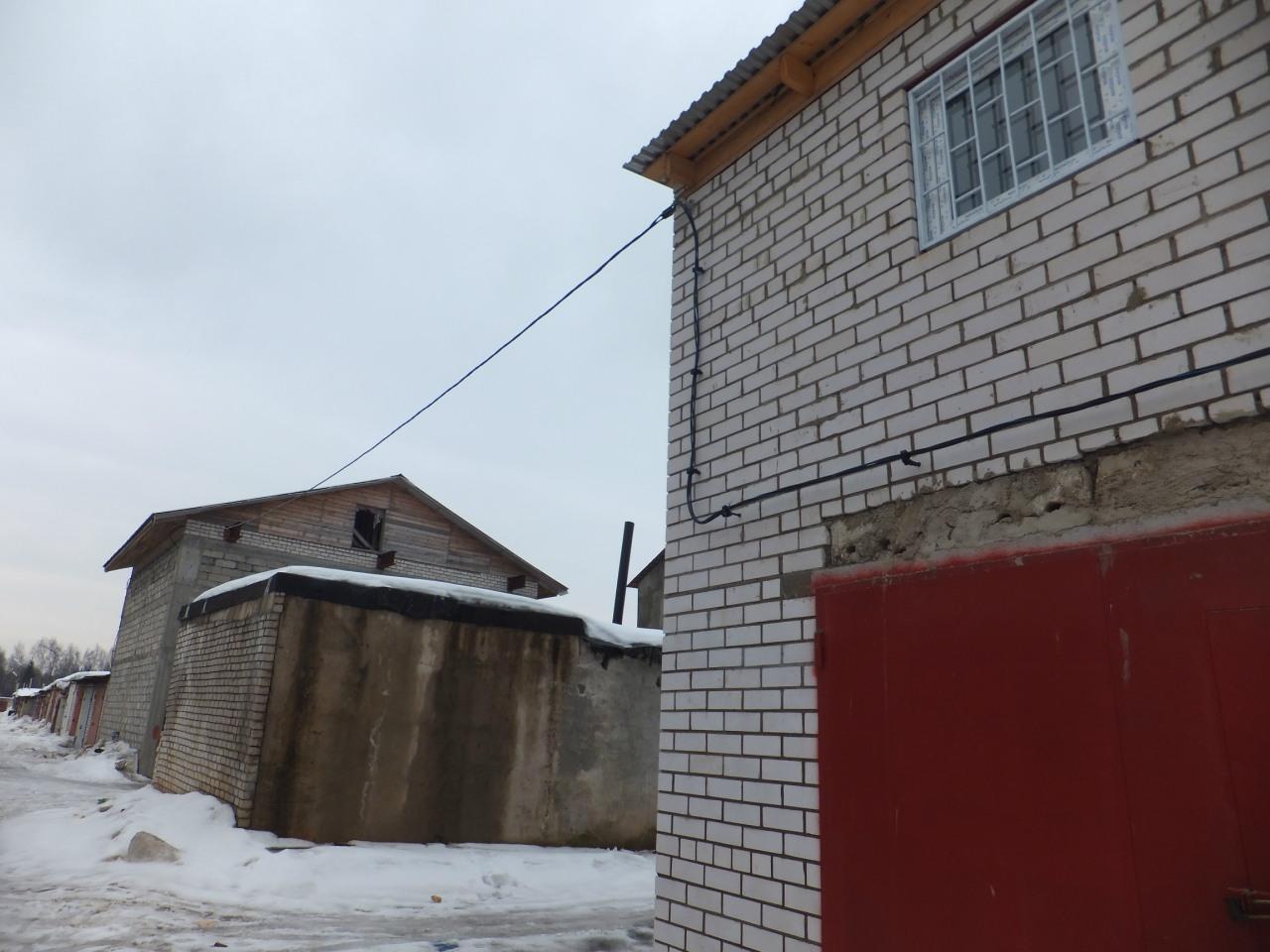 Линия 0,4 кВ СИП 4_25 для вновь построенных гаражей в ГСК. 2