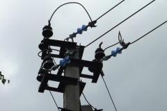 Вынос ЛЭП 6 кВ за пределы дачных участков. Соединение с голой линией. 1