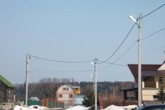 Воздушная линия ЛЭП 0,4 кВ СИП 4_70. 1