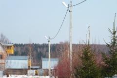 Воздушная линия ЛЭП 0,4 кВ СИП 4_70. 3