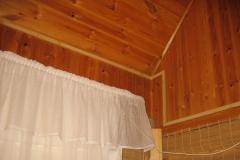 Деревянный дом. Монтаж в кабель-канале 3
