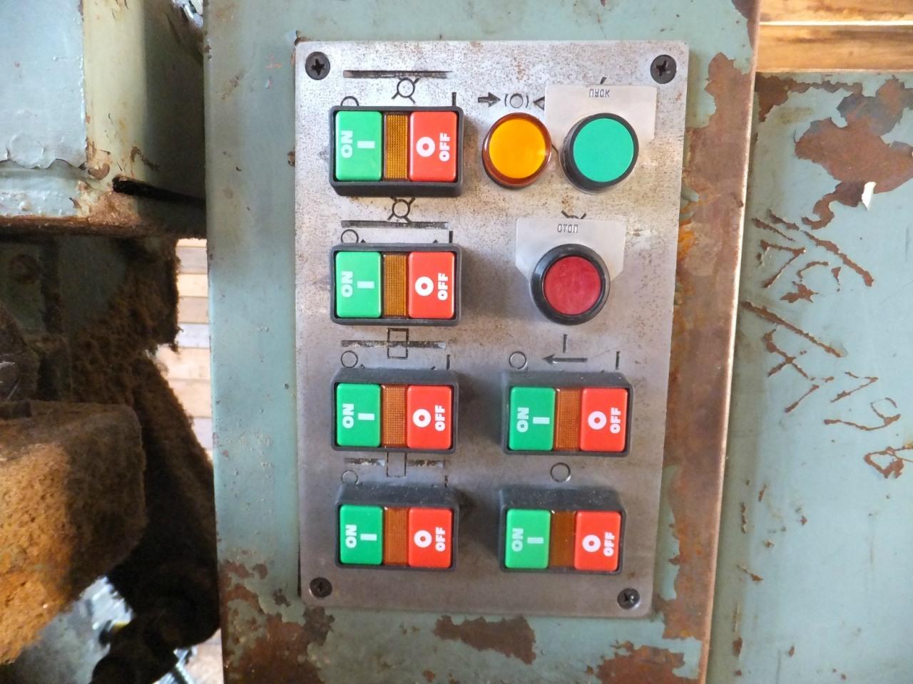 Деревообрабатывающий станок. Замена автоматики. Панель управления.