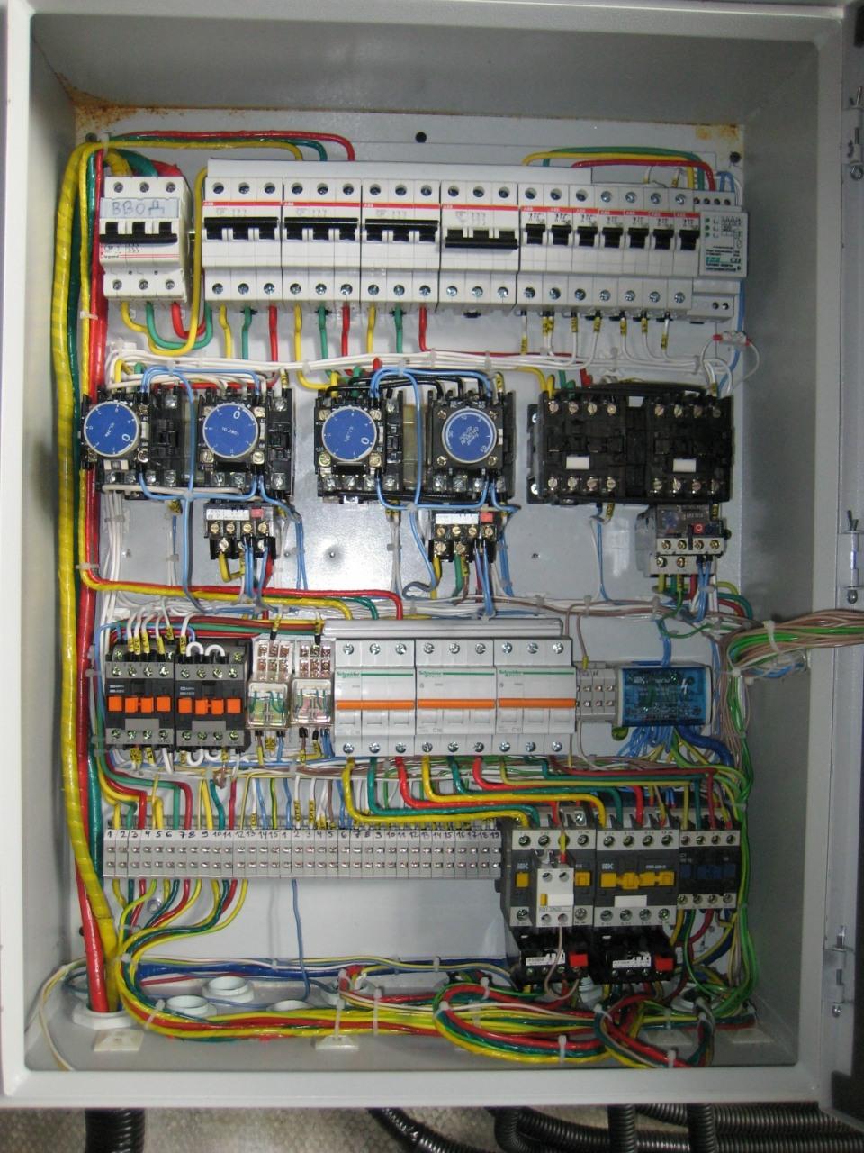 Шкаф управления сушилкой пиломатериала. 1
