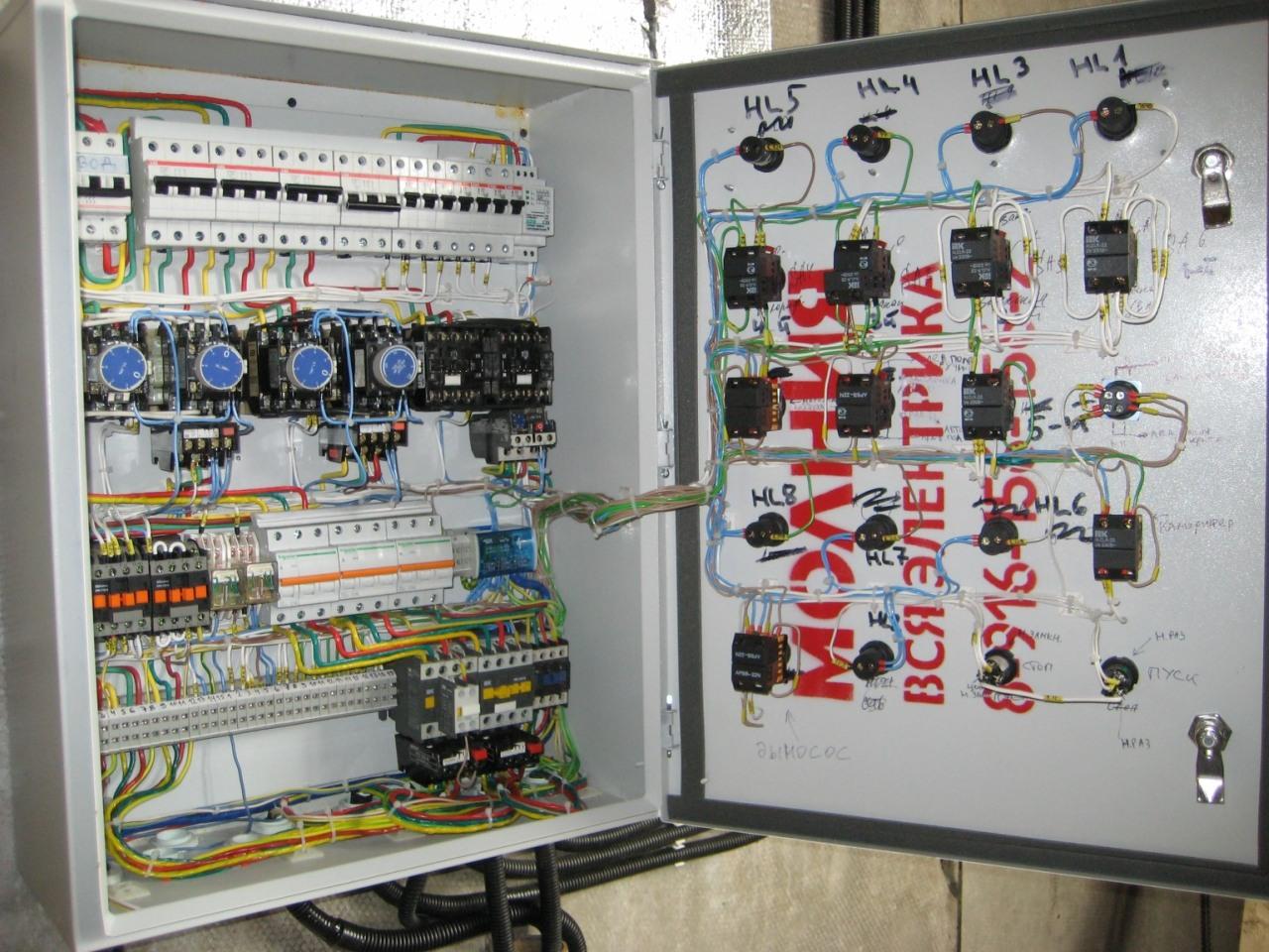Шкаф управления сушилкой пиломатериала. 2